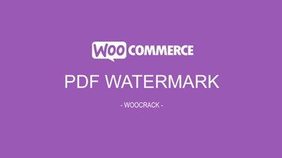 woocrack pdf watermark