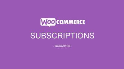woocrack subscriptions