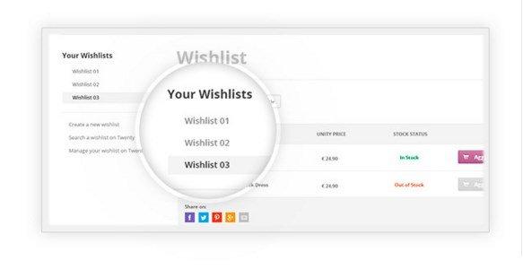 multiple-wishlist
