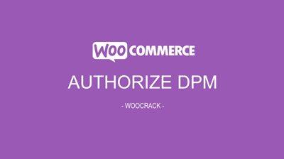 woocrack authorize dpm