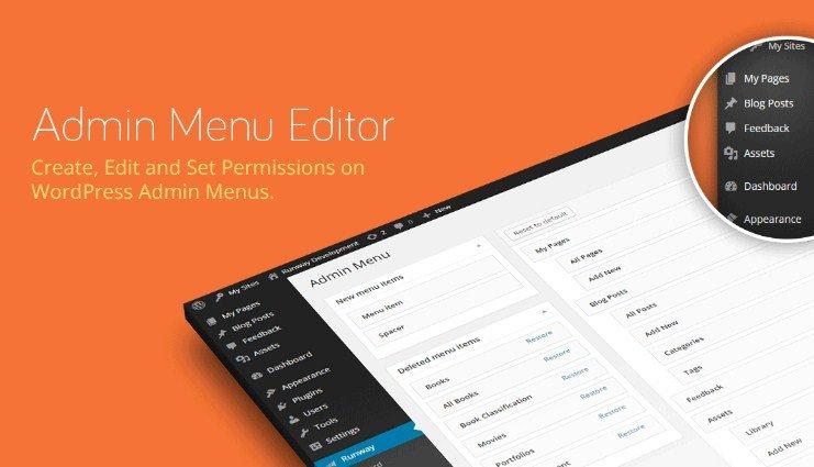Admin Menu Editor Pro WordPress Toolbar Editor Addon