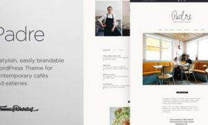 Padre – Cafe & Restaurant WordPress Theme