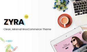 Zyra – Clean Minimal WooCommerce Theme